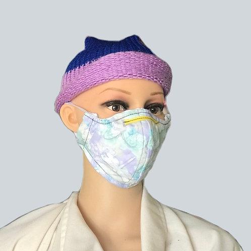 Flutterby filtered face mask