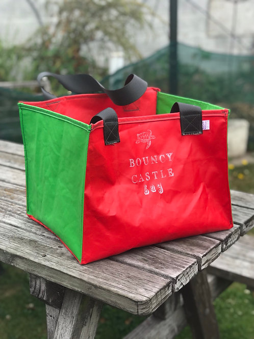 Whatever Bouncy Castle Bag -Red/Green