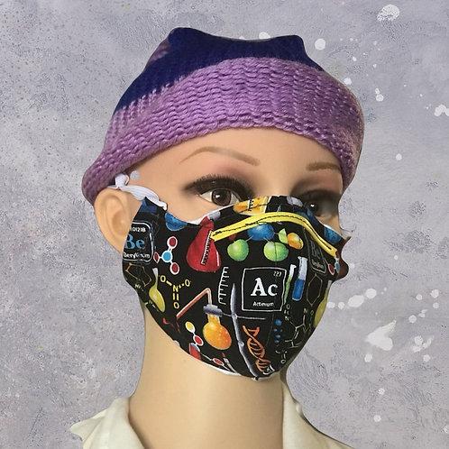 Chemistry filtered face mask