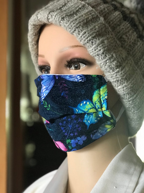 Butterfly Memories - Pleated mask with removable filter
