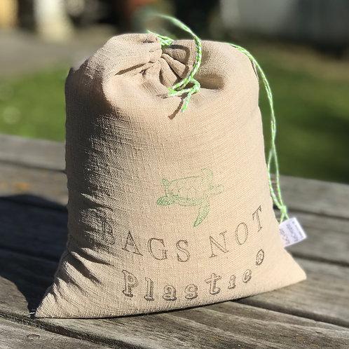 Linen BAGS NOT Plastic® Bulk Food Bag - Medium