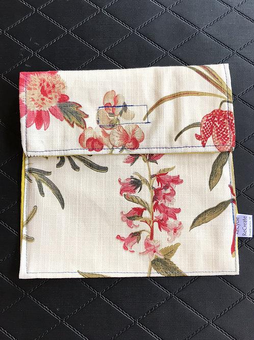Floral Sandwich Bag