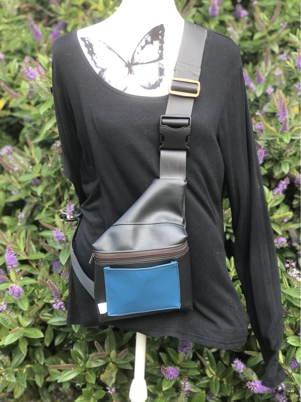 Peacock Blue - Sling Bag