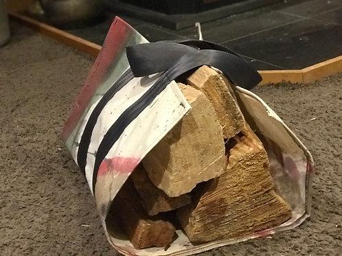 Scrawl firewood carrier