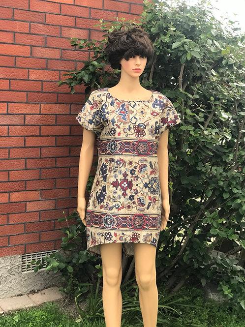 Egyptian Flower mini dress