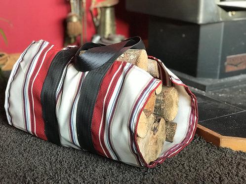 Fireside wine - firewood carrier