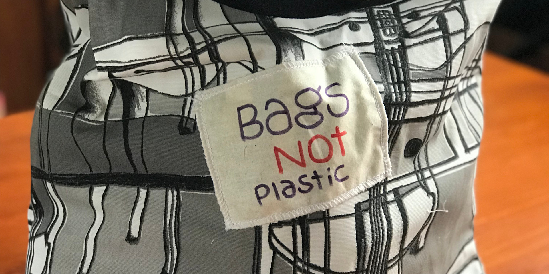 Tote bag ReCycle ReCreate