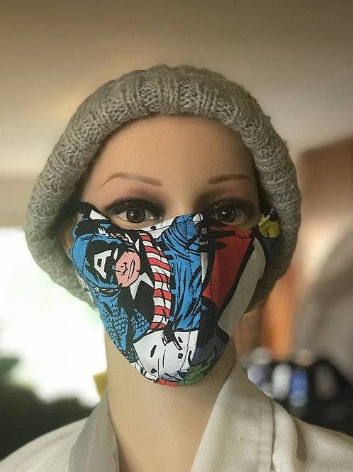 Bold Super Hero mask