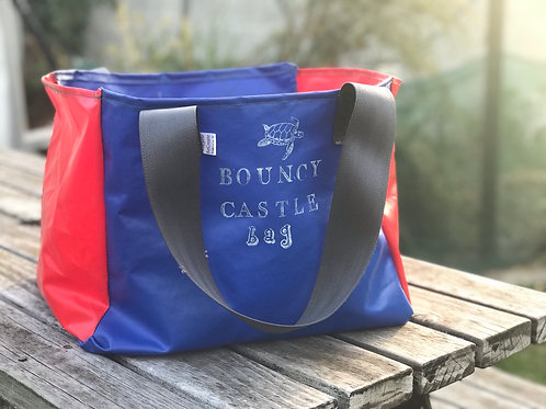 Whatever Bouncy Castle Bag -blue/red