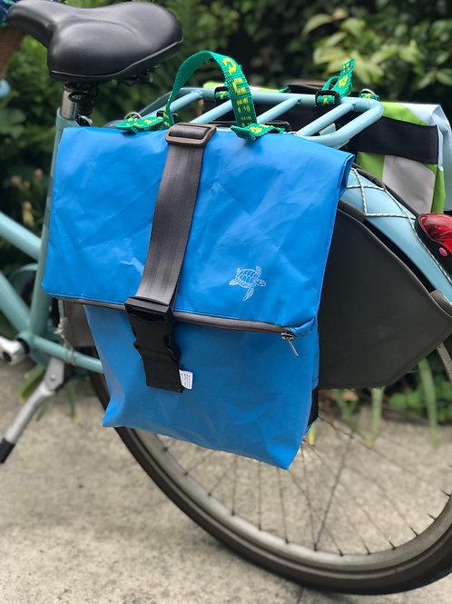 Bouncy Blue - pannier bag