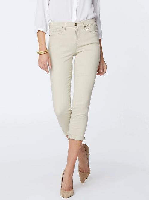 NYDJ, Chloe Skinny Capri Jeans, Feather