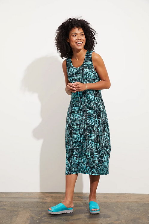 LIV Willow Dress, Waterfall Mosaic
