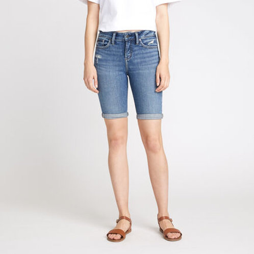 Silver Audrey Bermuda Shorts