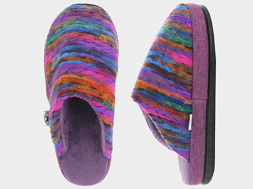 NAOT Recline Slippers, Purple/Orange/Blue