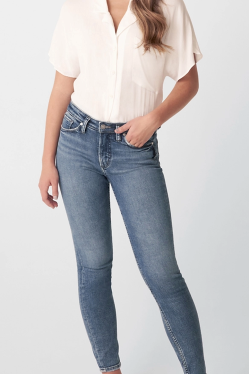 SILVER, Most Wanted Mid Rise Skinny