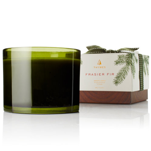 THYMES Frasier Fir 3-Wick Candle, 17 oz