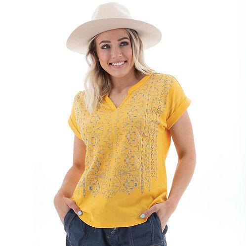 AVENTURA Flynn Top, Yellow