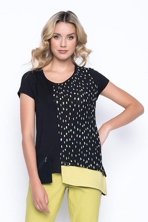 PICADILLY, Asymmetric Top With Pocket