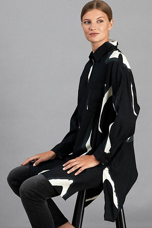 MASAI Ilta Tunic Shirt, Black