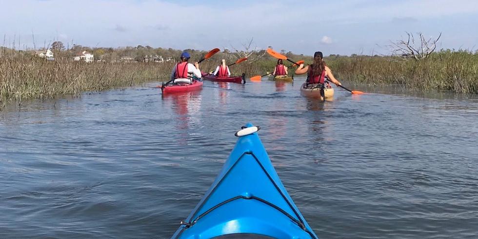 Kayak + Yoga