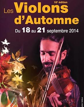 Programmation 2014 violons d'automne