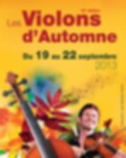 Programmation 2013 violons d'automne