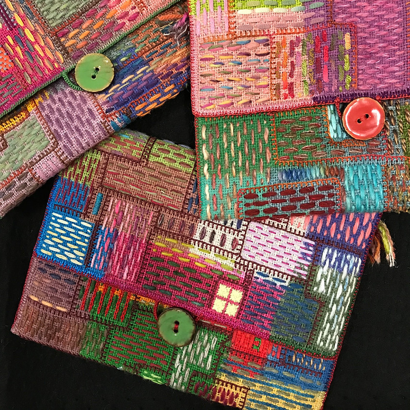 Colour on colour: make a coloured clutch