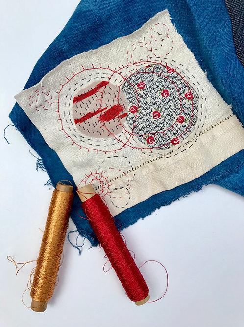 Boro Style Stitching