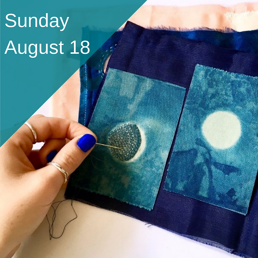 Monthly Embroidery Group - August