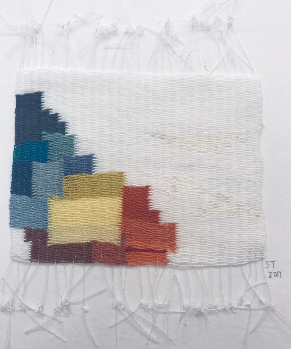 Miniature tapestry