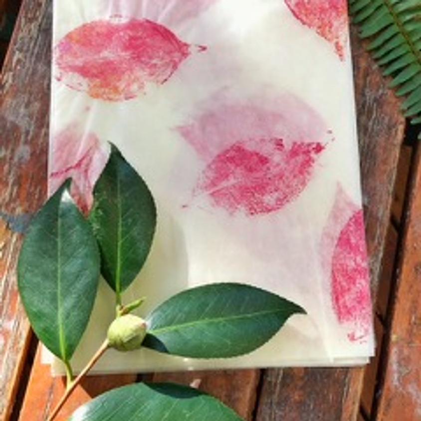 Nature Printing: Decorative Tissue Paper