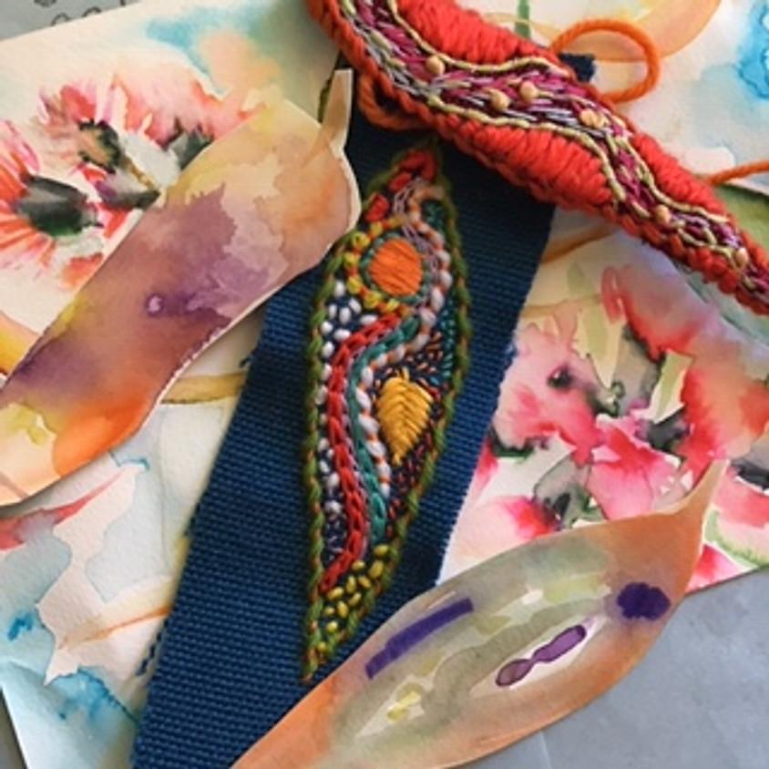 Watercolour and Stitch