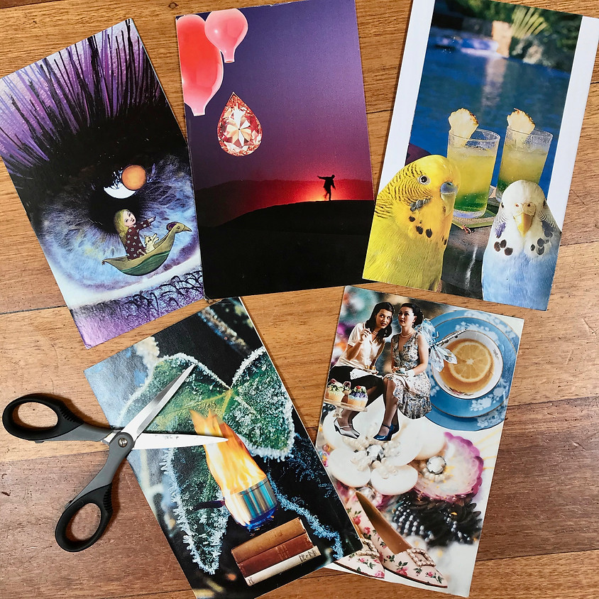 Creative Collage (or Cut and Paste) for Grownups