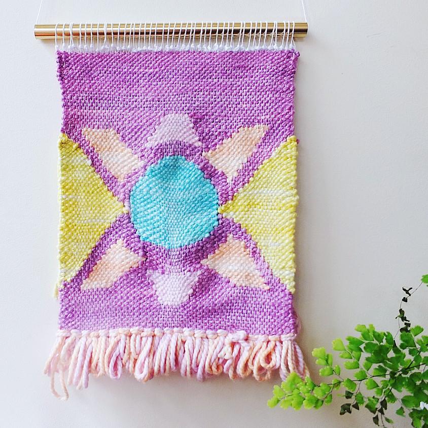 Beginner's Loom Weaving