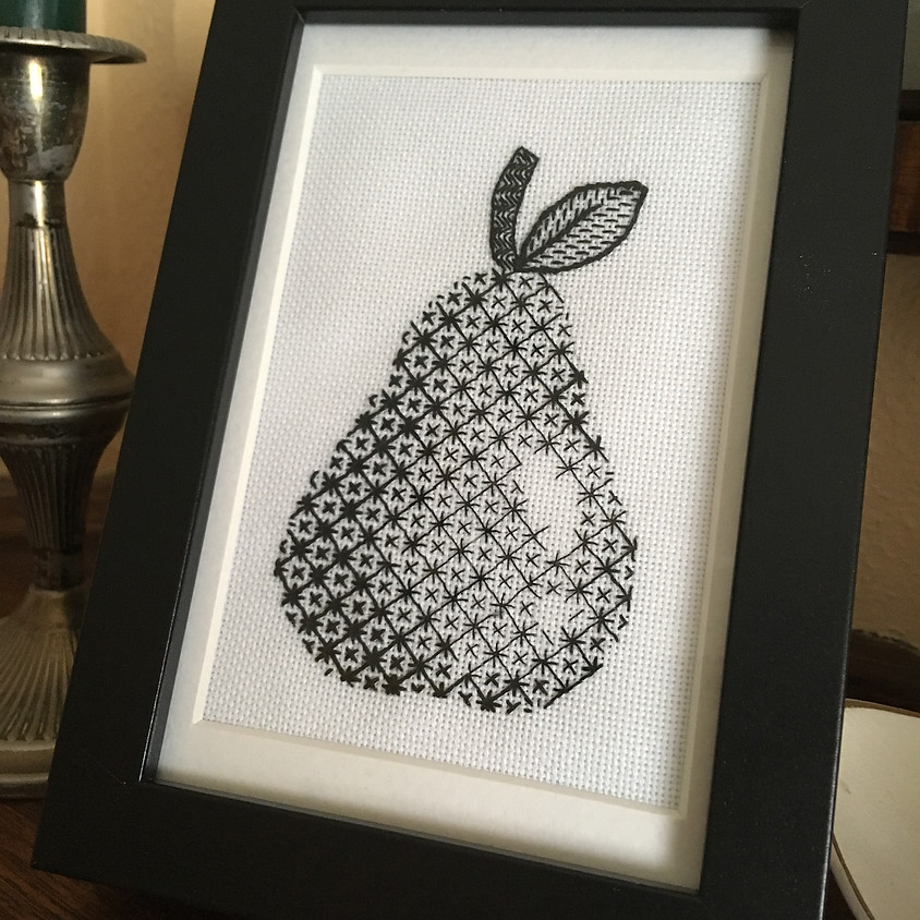 Shaded Blackwork - From Image to Thread