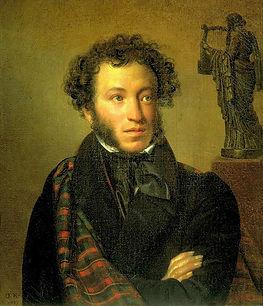 A.S. Puschkin, Portrtait von Orest Kiprenskij 1831
