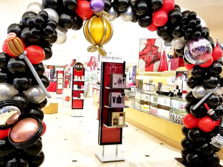 Corporate Sale Balloon Display