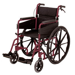 Escape Wheelchair, Self Propelled, Standard, Ruby Red Code: PAT-091566256