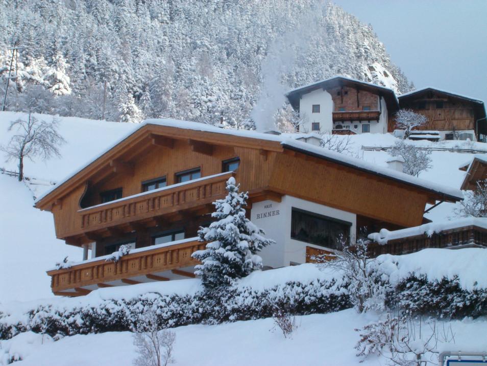 Haus Rinner im Winter