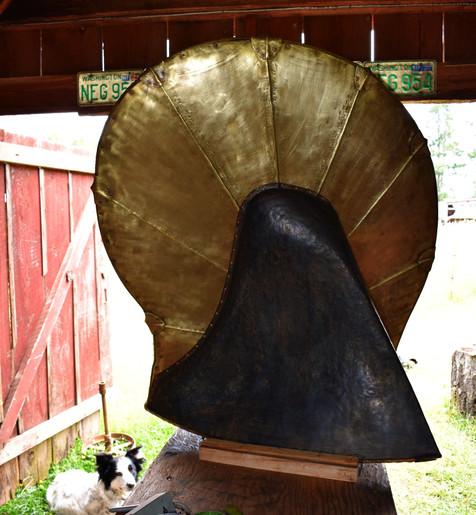 Brass Tail Door
