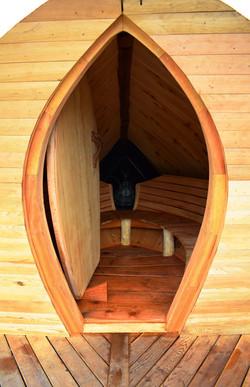 Anglerfish Sauna door opening...