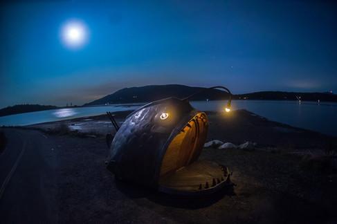 The Anglerfish at Lummi Island