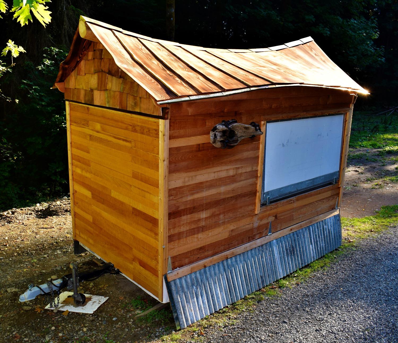 coffee hut roof commission