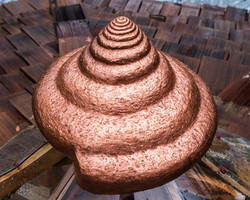 Copper Snail Cupola Cap