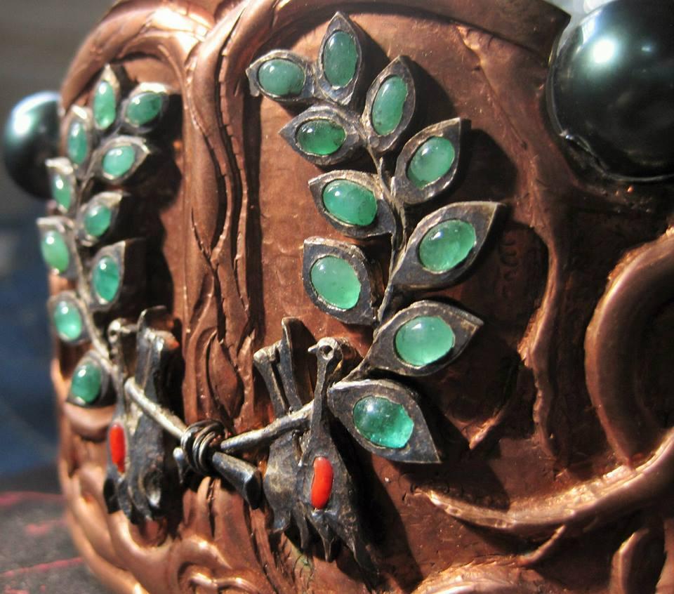 Emerald Laurel Wreath