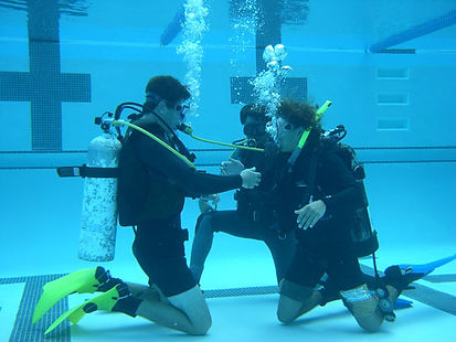 SSAC - Diver Pool Training
