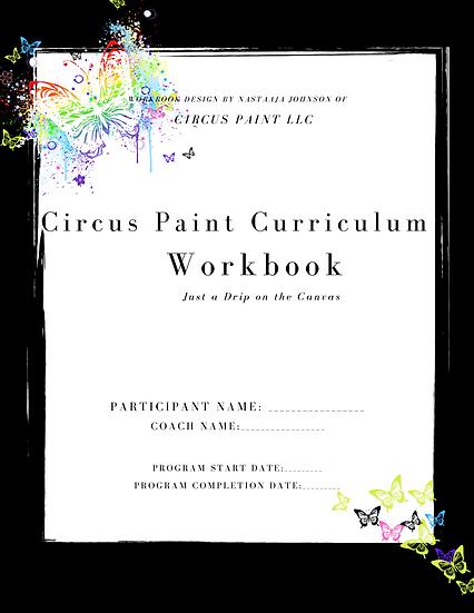 The Circus Paint Curriculum Workbook- Fabrics Coach