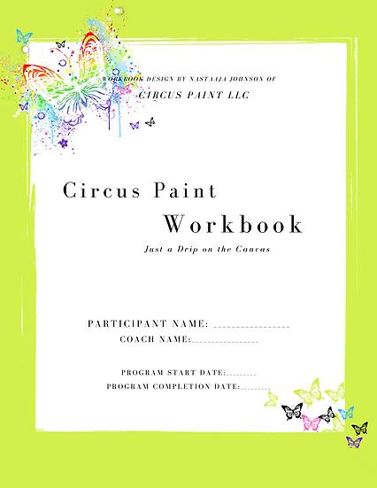 The Circus Paint Workbook- Fabrics