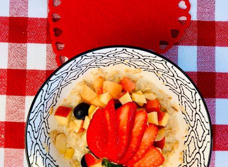 Déjeuner parfait de St-Valentin en famille !