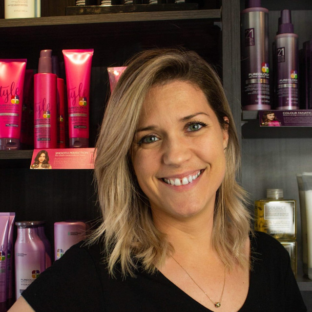 Jessica Laurin Propriétaire & Coiffeuse